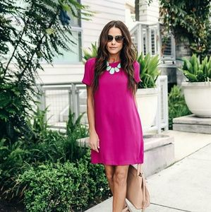Vici Collection MAKING MOVES SHIFT DRESS FUCHSIA M